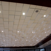 Above View Acoustic Panel Ceilings