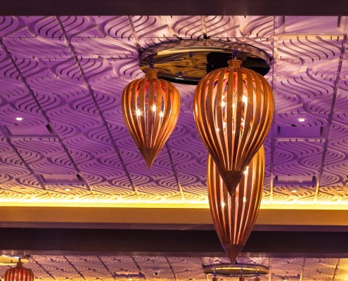 Above View Decorative Reinforced Panel Ceilings
